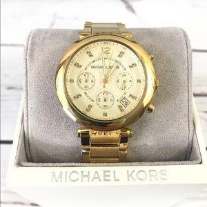 🌸 MICHAEL KORS GOLD WATCH MK5701